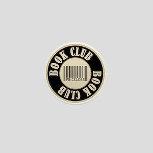 Book Club is Priceless Mini Button
