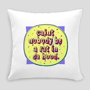 Life in da Hood Everyday Pillow