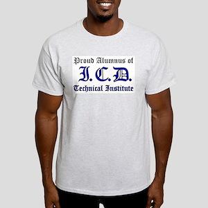 ICD Tech  Ash Grey T-Shirt