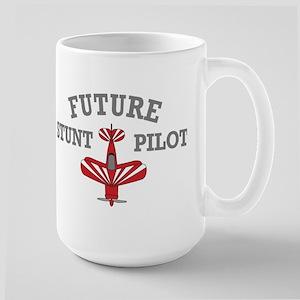 Future Stunt Pilot Large Mug