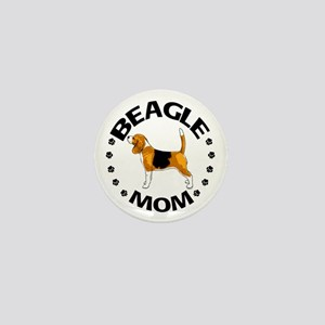 Beagle Mom Mini Button
