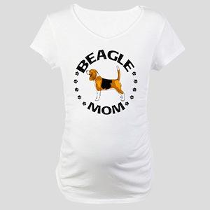 Beagle Mom Maternity T-Shirt