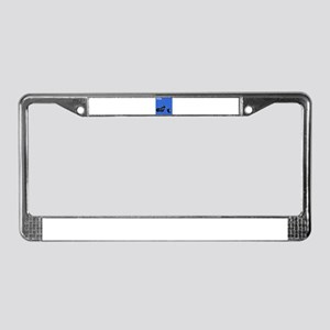 I Ride License Plate Frame