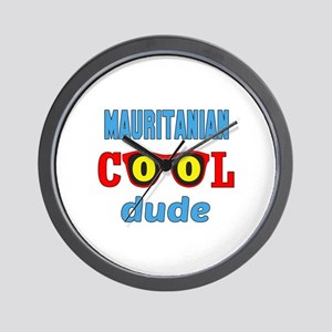 Mauritanian Cool Dude Wall Clock