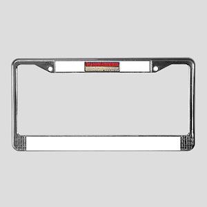 Original Homeland Security License Plate Frame