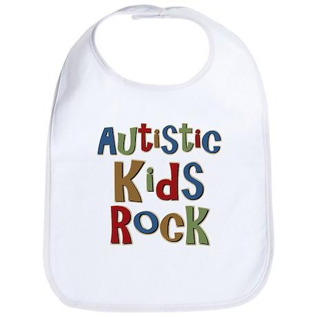 Autistic Kids Rock Bib