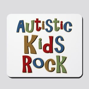 Autistic Kids Rock Mousepad
