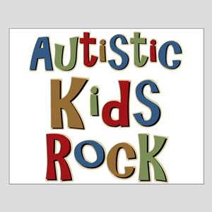 Autistic Kids Rock Small Poster