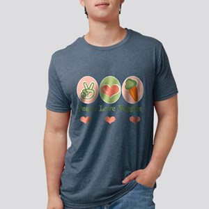 Peace Love Veggies Vegan T-Shirt