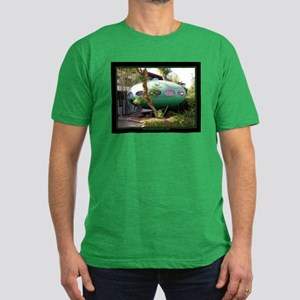 """FUTURO HOUSE"" Men's Fitted T-Shirt (dark)"