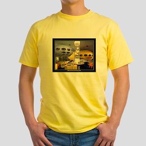 """FUTURO HOUSE"" Yellow T-Shirt"