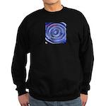 Mesmerizing wormhole Sweatshirt (dark)