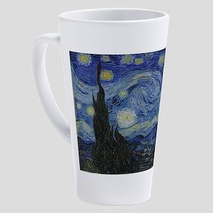 Vincent van Gogh's Starry Night 17 oz Latte Mug