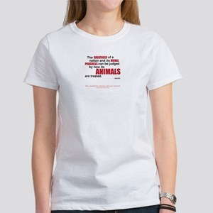 """""""Greatness of a Nation"""" Women's T-Shirt"""