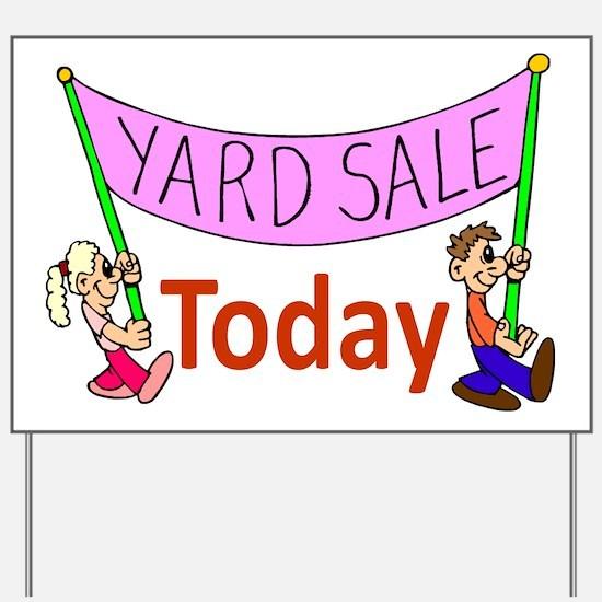 Yard Sale 2 Yard Sign