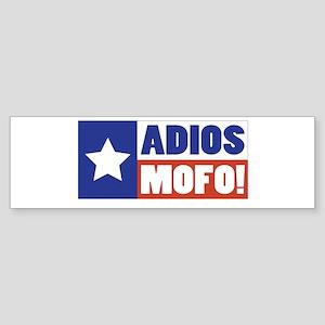 Adios Mofo (Secede) Bumper Sticker