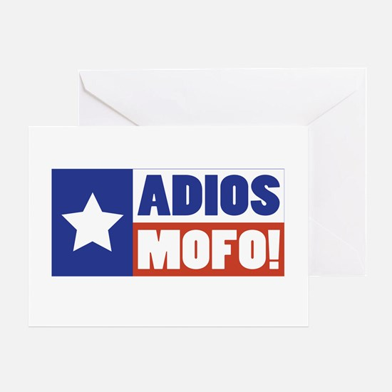 Adios Mofo (Secede) Greeting Card
