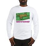 Talk to the Paw Long Sleeve T-Shirt (w/ 2CG logo)