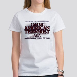 American Terrorist Veteran of Women's T-Shirt
