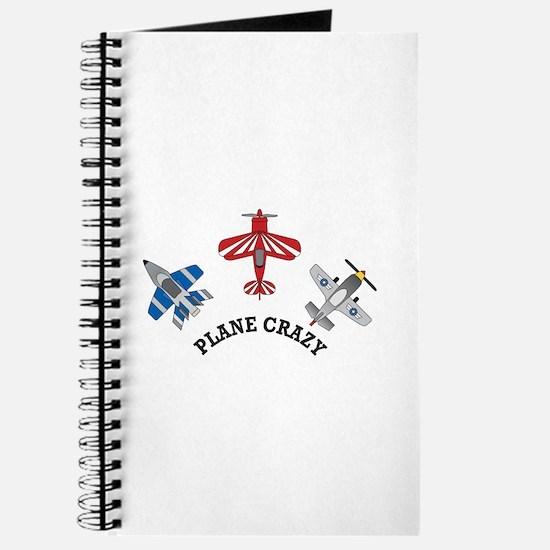 Aviation Plane Crazy Journal