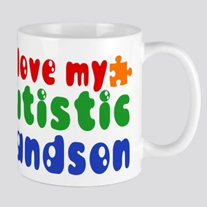 Autistic Grandson Mug