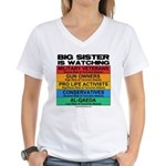 Big Sister Women's V-Neck T-Shirt