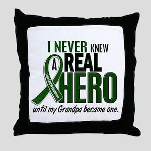 REAL HERO 2 Grandpa LiC Throw Pillow