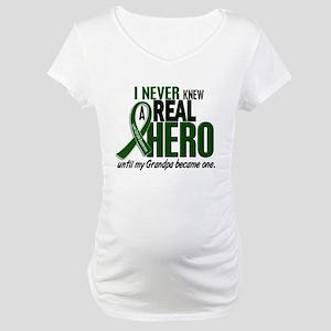 REAL HERO 2 Grandpa LiC Maternity T-Shirt