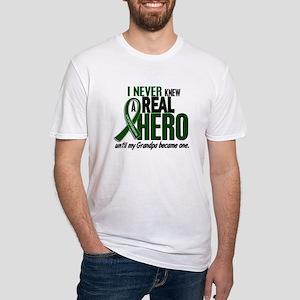REAL HERO 2 Grandpa LiC Fitted T-Shirt
