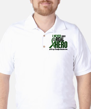 REAL HERO 2 Grandpa LiC Golf Shirt
