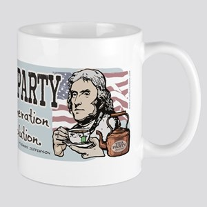 Jefferson Tea Party Mug