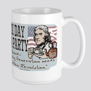 Jefferson Tea Party Large Mug