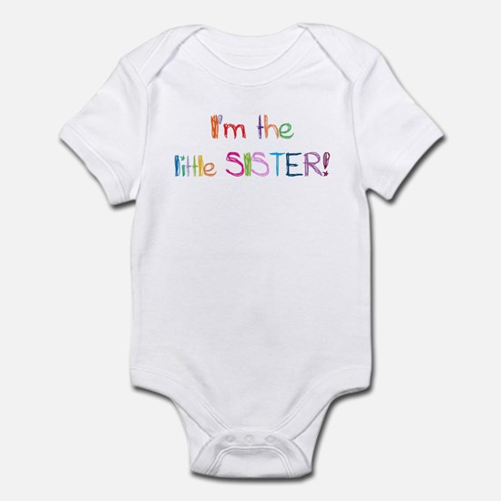 I'm the Little Sister! Infant Bodysuit
