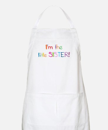 I'm the Little Sister! BBQ Apron