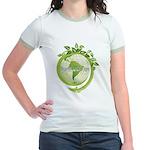 Earth 3 Jr. Ringer T-Shirt