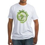Earth 3 Fitted T-Shirt