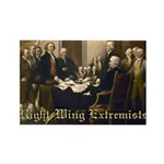Right-Wing Extremists Rectangle Magnet