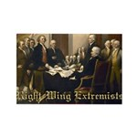 Right-Wing Extremists Rectangle Magnet (100 pack)