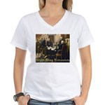 Right-Wing Extremists Women's V-Neck T-Shirt