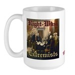 Right-Wing Extremists Large Mug