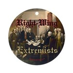 Right-Wing Extremists Ornament (Round)
