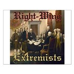 Right-Wing Extremists Small Poster