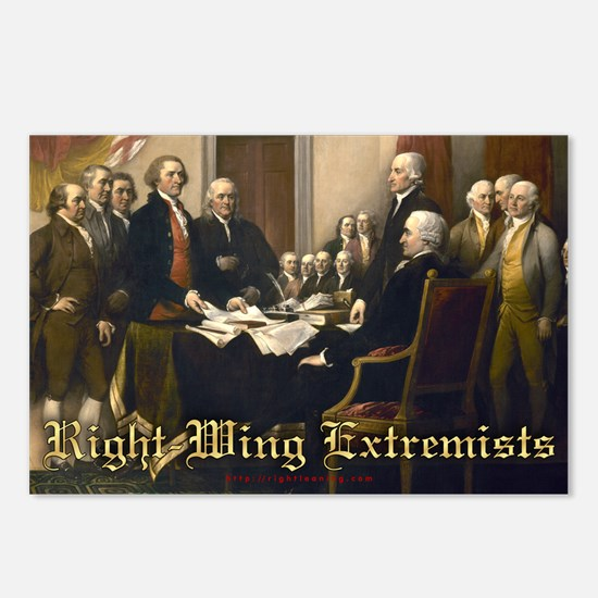 Right-Wing Extremists Postcards (Package of 8)