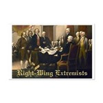 Right-Wing Extremists Mini Poster Print