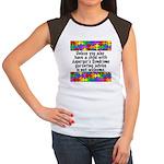 He Has Asperger's Women's Cap Sleeve T-Shirt