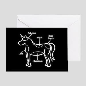 Unicorn Parts Greeting Card
