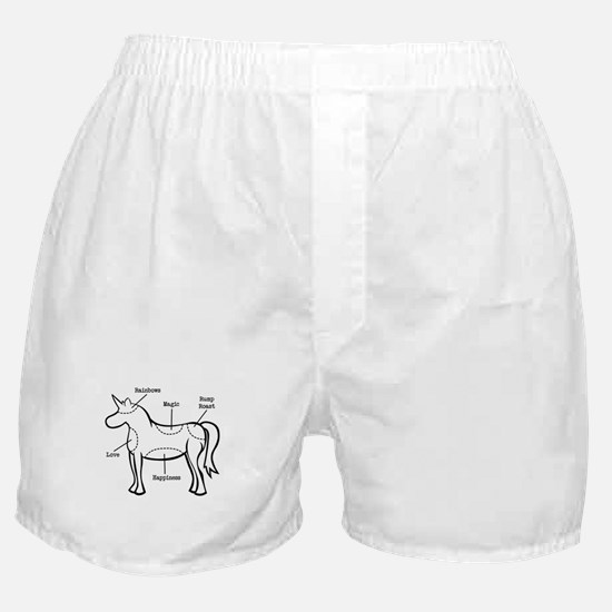 Unicorn Parts Boxer Shorts