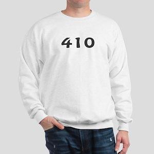 410 Area Code Sweatshirt