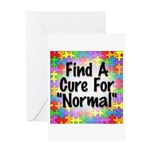 Cure Normal Greeting Card