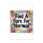 Cure Normal Mini Poster Print